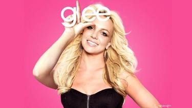Britney Spears toda una estrellona en 'Glee'