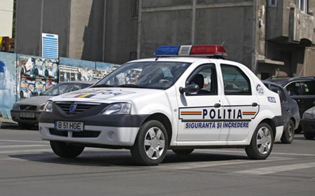 Dacia Logan policial