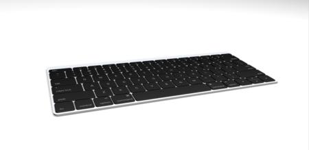Keyboard Angle Silver