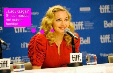 Madonna abre su boquita de piñón para hablar de... ¡Lady Gaga!