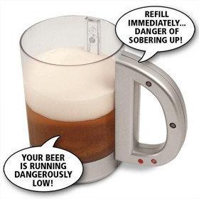 La jarra de cerveza que te habla