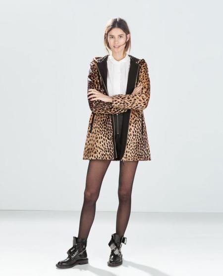 Prenda animal print Zara