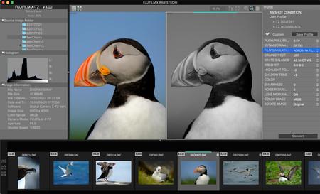 Fujifilm X Raw Studio, ya disponible (para Mac) el nuevo sistema de conversión RAW que promete ser veinte veces más rápido