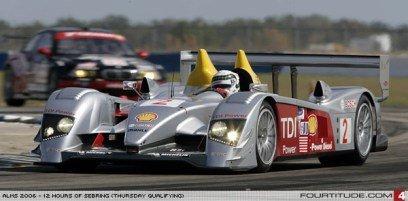 Audi R10 pole en Sebring