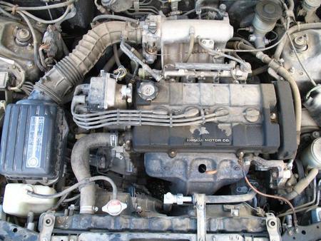 Motor sucio