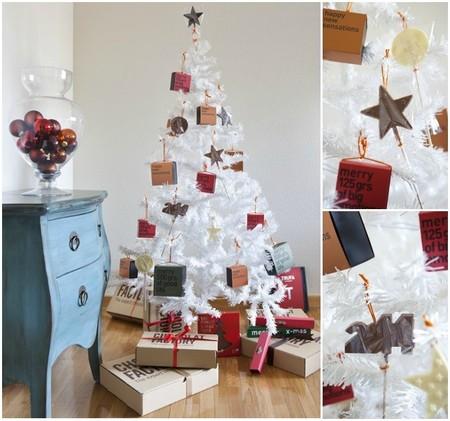 árbol de navidad chocolat factory