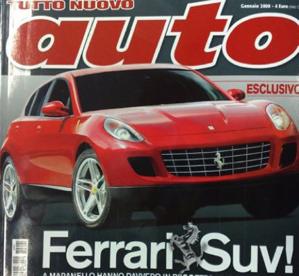 Siguen los rumores: nueva recreación del Ferrari SUV