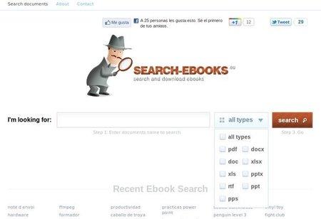Si te gusta la lectura, te encantará Search-Ebooks