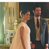 Fernando Fitz-James Stuart y Solís y Sofía Palazuelo ya son marido y mujer. Así es el vestido de la novia