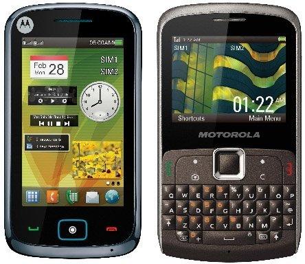 Motorola prepara un par de teléfonos con doble SIM para Europa