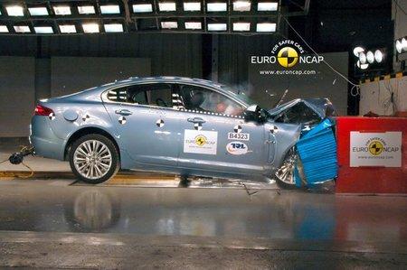 jaguar XF EuroNCAP