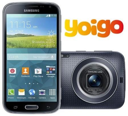 Precios Samsung Galaxy K zoom con Yoigo