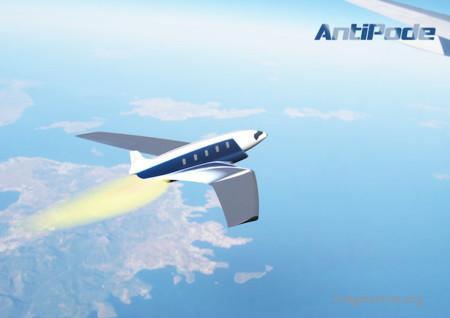 Con este avión podrías viajar de Londres a Nueva York en solo 11 minutos