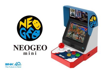La NEOGEO mini es oficial: SNK presenta su mini arcade con 40 títulos clásicos y pantalla de 3,5 pulgadas