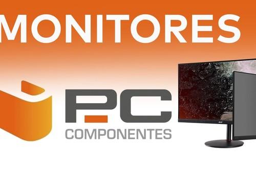11 ofertas en monitores ASUS, AOC, Samsung o Dell para jugar y trabajar en PcComponentes