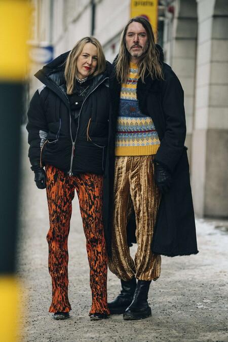 El Mejor Street Style De La Semana Estocolmo Semana De La Moda 05