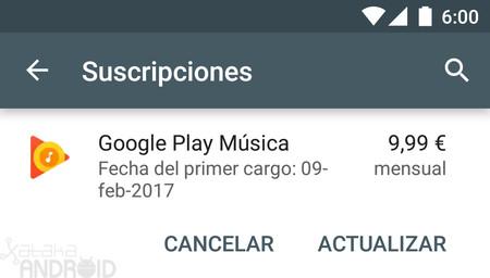 Cómo gestionar y cancelar tus suscripciones de Google Play