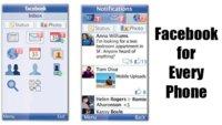 Facebook llega a todos los móviles compatibles con Java