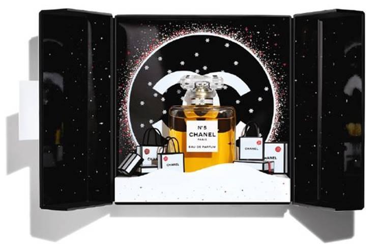 Estuche N°5 Eau de Parfum 100 ml + Mini Twist And Spray 7 ml