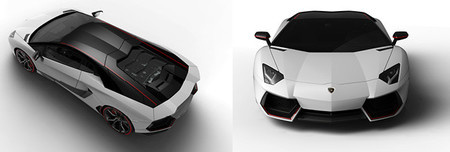 Lambo Aventador Pirelli Edition