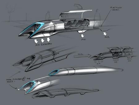 detalle cápsula hyperloop