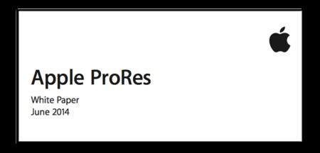 Apple ProRes 4444 XQ, el nuevo códec de vídeo