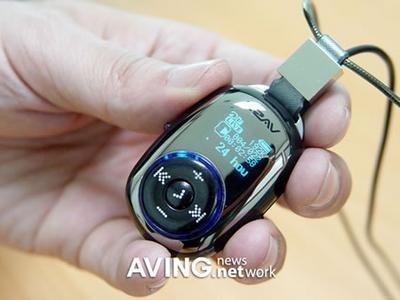 EZAV Pebble, pequeño MP3 que se cuelga