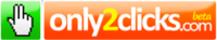 Only2Clicks, página de inicio con los enlaces favoritos