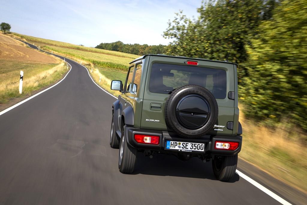 El Suzuki Jimny, primera víctima de la media de emisiones de 95 g/km CO₂: sus ventas se paralizan en Europa