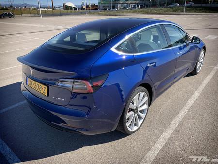Tesla Model 3 Prueba Contacto