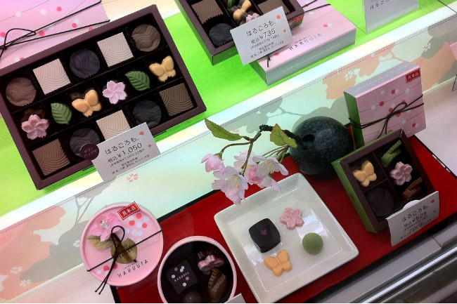San Valentín en Japón, la locura del chocolate