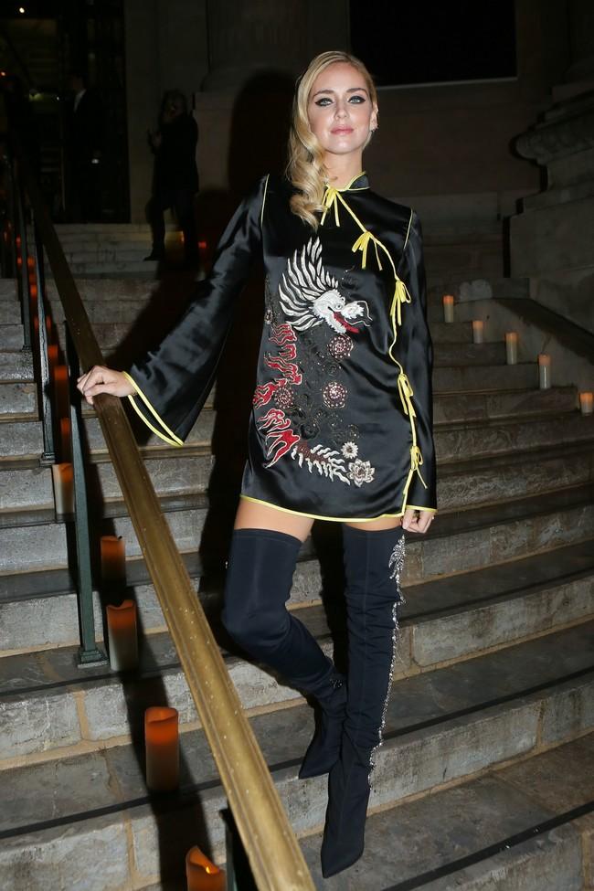 fiesta vogue paris fashion week Chiara Ferragni