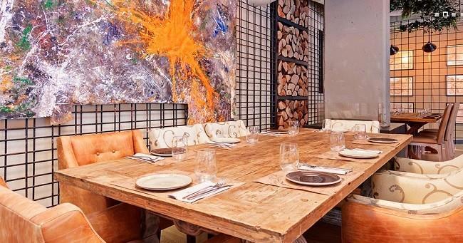 Restaurante marieta estilo industrial con aires viajeros - La marieta madrid ...