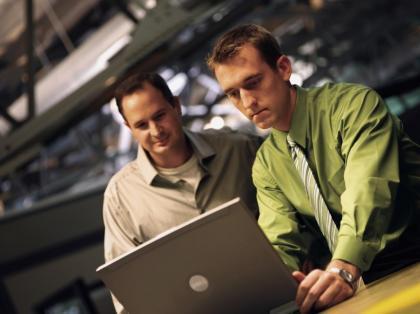 El ordenador portátil en la empresa