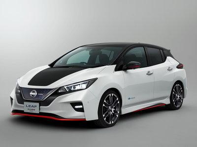 Eléctrico, sí, pero el Nissan LEAF Nismo Concept nos plantea un hot-hatch muy deseable
