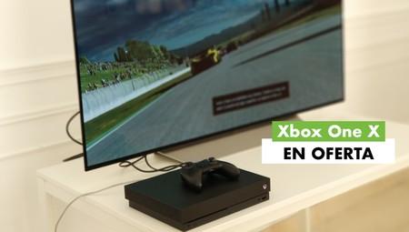 La potente consola Xbox One X de Microsoft rebajadísima hoy en MediaMarkt y con un juego gratis