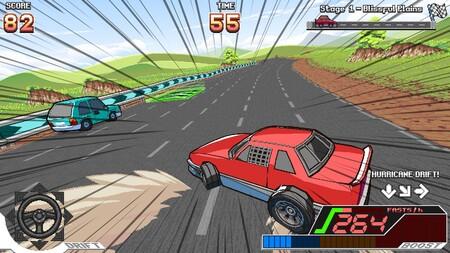 Shut Up and Drive! es la perfecta reunión entre beat'em up, plataformas, baile y conducción en un solo título arcade