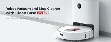 El nuevo robot aspirador de Xiaomi tiene vaciado automático como el Roomba i7 pero cuesta la mitad: Roidmi EVE Plus por 392 euros