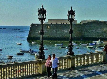 La playa de La Caleta (Cádiz). Tus fotos de viaje