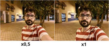 Muestra Selfie Noche
