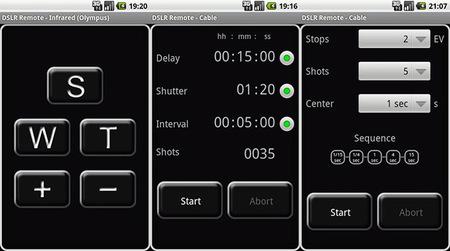 Capturas de pantalla de DSLR Remote para Android