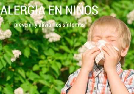 Cómo prevenir y aliviar la alergia en los niños