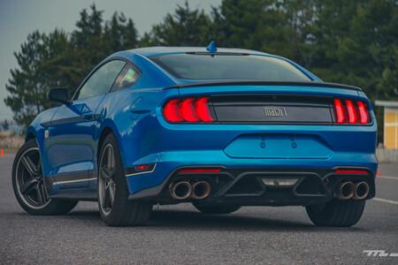 Ford Mustang Mach 1 2021 Prueba De Manejo Opiniones Resena Mexico 91