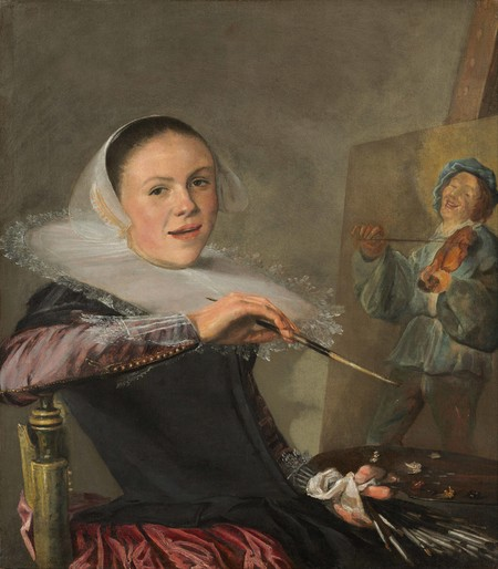 Judith Leyster Self Portrait Google Art Project