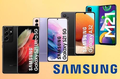 Ahorra estrenando unos de los nuevos smartphones de Samsung con estas ofertas de Amazon