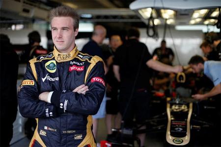 Davide Valsecchi se postula como sustituto de Romain Grosjean