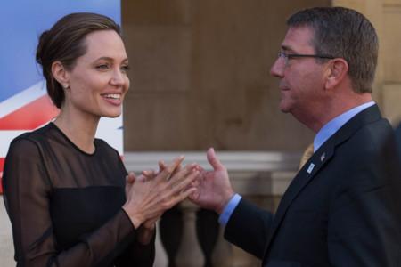 Ash Carter Angelina Jolie