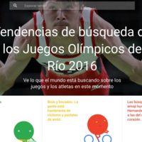Google lanza un especial en Trends sobre los Juegos Olímpicos de Río