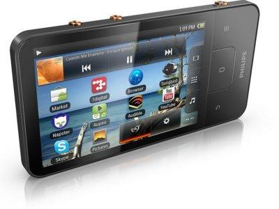 Philips GoGear Connect 3 mantiene Android como sistema operativo