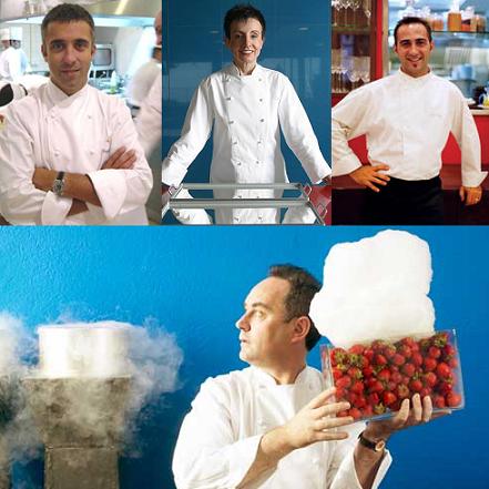 Chefs catalanes en el extranjero